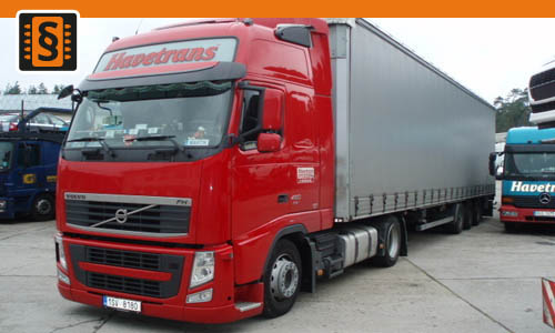 Chiptuning Volvo FH13 D13A/B/C 400 294kw (400hp)