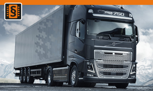 Chiptuning Volvo FH16 D16E 540 397kw (540hp)