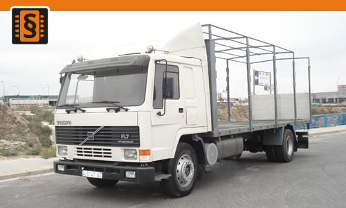 Chiptuning Volvo FL7 D6A 280 206kw (280hp)