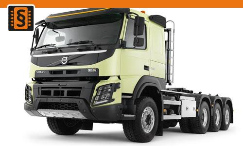 Chiptuning Volvo FMX D13C 500 368kw (500hp)