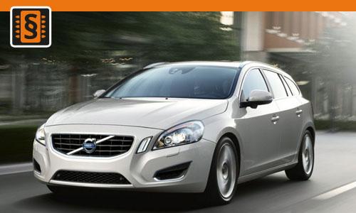 Chiptuning Volvo V60 2.0 D3 120kw (163hp)