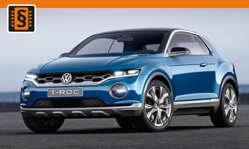 Chiptuning Volkswagen T-Roc 2.0 TSI 140kw (190hp)
