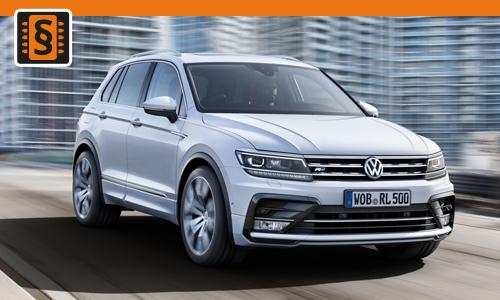 Chiptuning Volkswagen Tiguan 1.5 TSI 110kw (150hp)