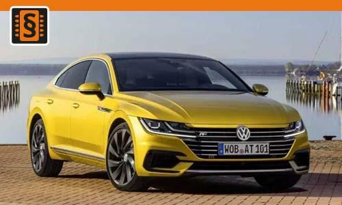 Chiptuning Volkswagen Arteon 2.0 TSI 206kw (280hp)