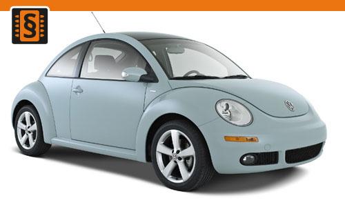 Chiptuning Volkswagen New Beetle 2.0 8V 85kw (115hp)