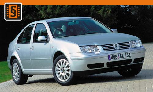 Chiptuning Volkswagen Bora 1.6 16V 77kw (105hp)