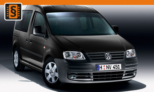 Chiptuning Volkswagen Caddy 1.9 TDI 55kw (75hp)