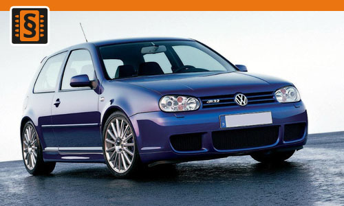 Chiptuning Volkswagen Golf 1.6i 75kw (102hp)