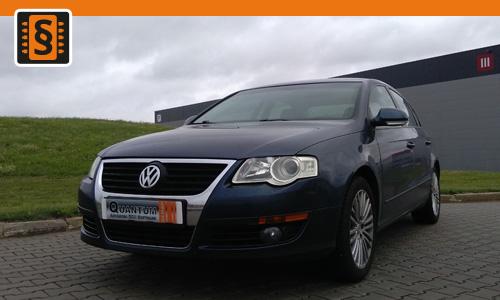 Chiptuning Volkswagen Passat 2.0 TDI 100kw (136hp)