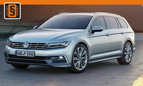 Chiptuning Volkswagen Passat 2.0 TDI Evo 110kw (150hp)