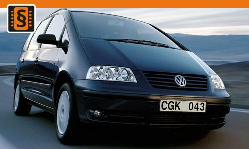 Chiptuning Volkswagen Sharan 1.8T  110kw (150hp)