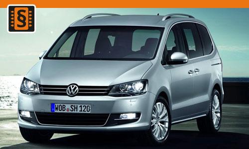 Chiptuning Volkswagen Sharan 2.0 TSI 162kw (220hp)