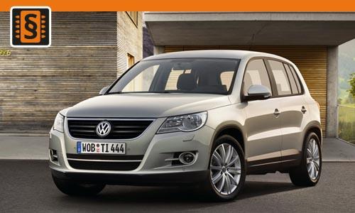 Chiptuning Volkswagen Tiguan I 1.4 TSI 110kw (150hp)