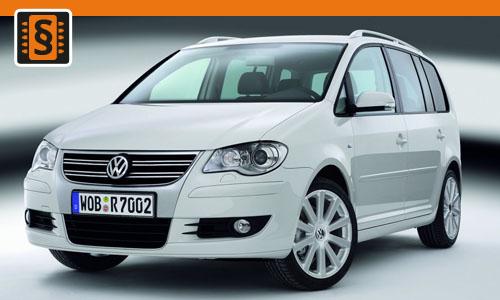 Chiptuning Volkswagen Touran 1.9 TDI 74kw (100hp)