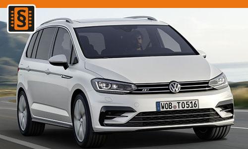 Chiptuning Volkswagen Touran 1.8 TSI 132kw (180hp)