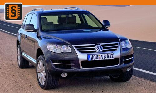 Chiptuning Volkswagen Touareg 3.2 R32 162kw (220hp)