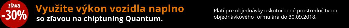 Quantum - zľava 30 % na chiptuning