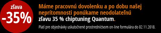 Quantum - zľava 35 % na chiptuning