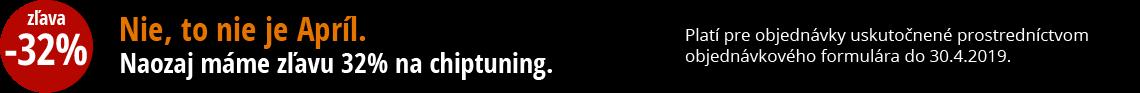 Zľava na chiptuning 32 %