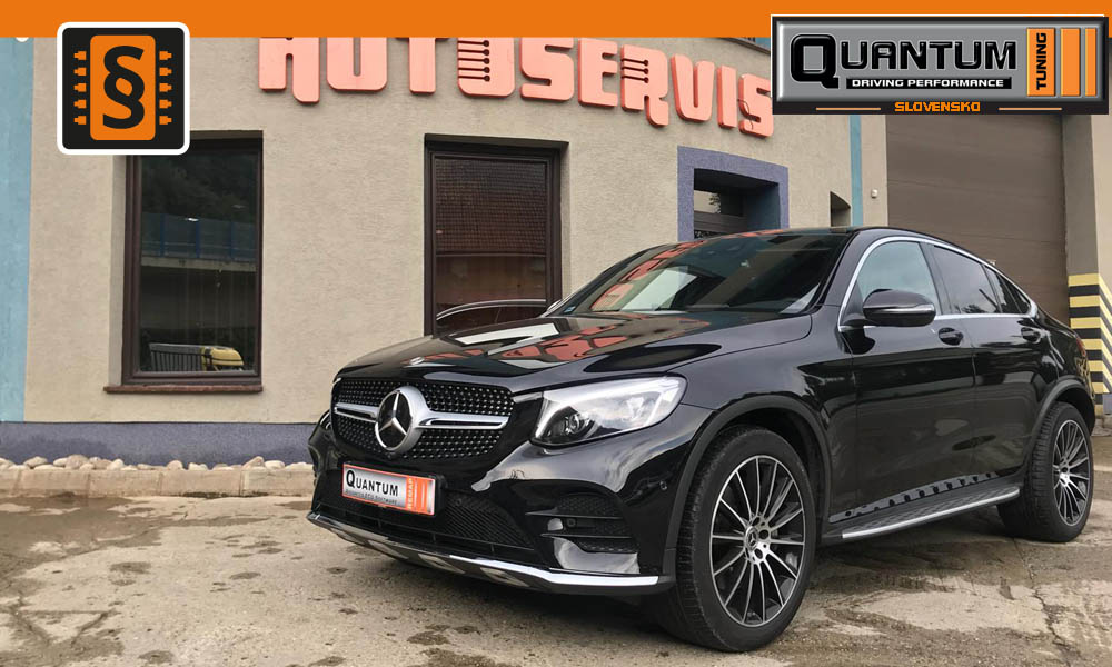 Reference Quantum Slovensko Chiptuning Mercedes GLC 250