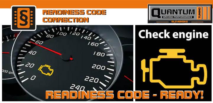 Readiness Code – kontrola – oprava