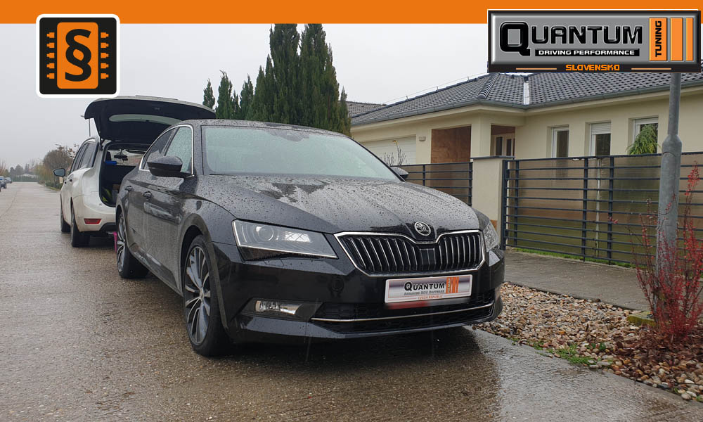 Chiptuning Skoda Superb 2.0TSi 206kw 280hp