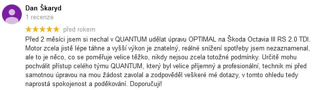 Quantum chiptuning recenze