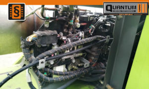 Caterpillar Claas engine vypnutí adblue
